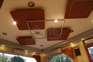 طراحی-رستوران-دکوراسیون-سازه سقف-عروس لبنان5