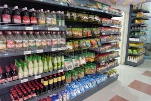 طراحی-قفسه های-فروشگاهی-هایپرمارکت-یخچال