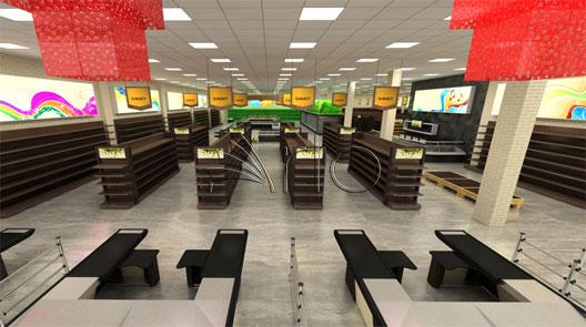 طراحی-تجهیز-هایپرمارکت-سوپرمارکت