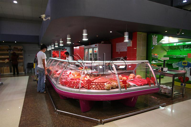 طراحی-یخچال-شیشه خم-سوپرگوشت-تارا 02