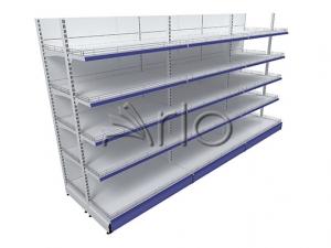 قفسه-بندی-فلزی-دوبل-یکطرفه-فروشگاهی