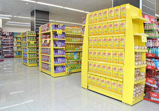 قفسه-بندی-سر قفسه-سوپر مارکت-دوطرفه-فروشگاهی2