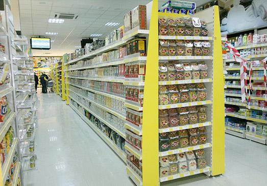 قفسه-بندی-سر قفسه-سوپر مارکت-دوطرفه-فروشگاهی4