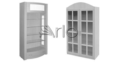 قفسه چوبی-دکوراسیون-فروشگاهی-دکوراسیون