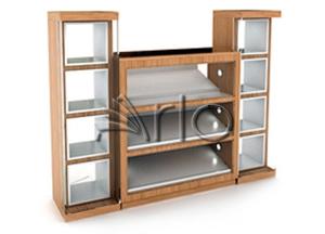 قفسه-استند-لوازم التحریر-کتاب-سی دی-مجله