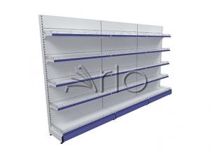 قفسه-بندی-یکطرفه-سوپر مارکت-دیواری-فروشگاهی