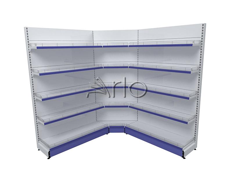 تجهیز-فروشگاه-قفسه-بندی-سوپر مارکت-کنج داخلی