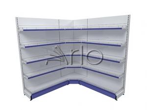 قفسه-بندی-سوپر مارکت-کنج داخلی-فروشگاهی