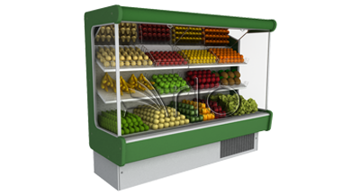 یخچال-ایستاده-موتور سرخود-میوه سبزی